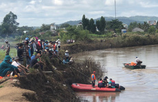Phát hiện thi thể 1 học sinh lớp 6 dưới sông