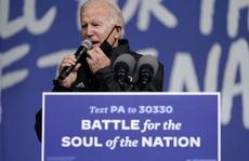Ông Biden không để Tổng thống Trump 'tuyên bố chiến thắng' khi chưa rõ ràng