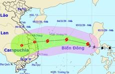 Bão số Goni vào Biển Đông trở thành cơn bão số 10, hướng vào Đà Nẵng - Phú Yên