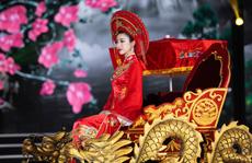 'Bí mật' của hoa hậu Đỗ Mỹ Linh khi hóa thân thành Thánh Mẫu