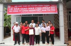 Vedan Việt Nam trao tặng 4 căn nhà Chữ thập đỏ