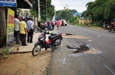 Thương tâm cảnh 2 nữ sinh trung học phổ thông tử vong trên đường đi học