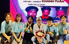 'Kép độc' Khánh Tuấn truyền nghề cho diễn viên trẻ