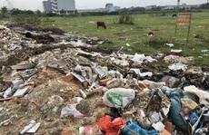 Cận cảnh hàng trăm tấn rác 'tấn công' Khu tái định cư 38 ha ở quận 12
