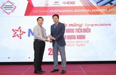 MB được vinh danh 'Ngân hàng tiêu biểu về tín dụng xanh' và 'Ngân hàng đồng hành cùng doanh nghiệp SME'