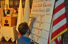 Chính thức bắt đầu bỏ phiếu, hai ông Biden - Trump có chiến thắng đầu tiên