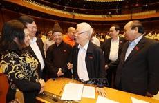 Chùm ảnh Tổng Bí thư, Chủ tịch nước dự phiên thảo luận của QH về kinh tế-xã hội