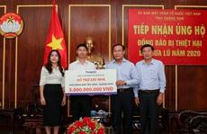 THACO xây lại ngôi làng cho đồng bào xã Trà Leng