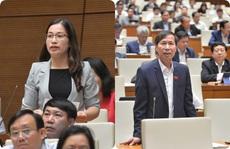 Đại biểu Quốc hội tranh luận 'chuyển cơ quan điều tra' về sai sót sách giáo khoa lớp 1