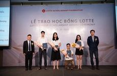 LOTTE tiếp tục trao học bổng cho sinh viên 11 trường đại học