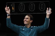 Rafael Nadal cán mốc 1.000 trận thắng trong sự nghiệp