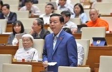 Bộ trưởng Trần Hồng Hà: 'Tôi nghĩ rừng còn quan trọng hơn trời'