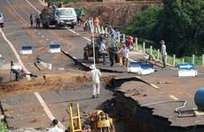 Khởi tố vụ đường 250 tỉ đồng vừa làm xong đã tan nát ở Gia Lai