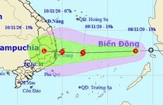 Áp thấp nhiệt đới vào Biển Đông, khả năng mạnh lên thành bão số 12