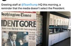 Chiến dịch tranh cử của ông Trump bị phát hiện đăng ảnh giả