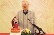 Tổng Bí thư, Chủ tịch nước phát biểu chỉ đạo tại Đảng bộ Công an Trung ương