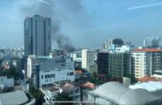 CLIP: Cháy ở hẻm 416 Nguyễn Đình Chiểu, quận 3, TP HCM