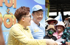 Xúc động hình ảnh của nghệ sĩ Chí Tài trong show truyền hình giúp người bất hạnh
