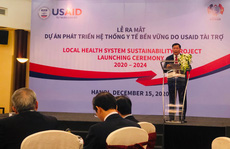 Ra mắt dự án phát triển hệ thống y tế bền vững