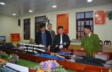 Phát hiện lô vũ khí 'khủng' ở TP Hạ Long