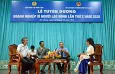 An Giang: Tuyên dương 32 doanh nghiệp vì người lao động