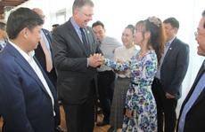 Đại sứMỹ thăm và làm việc với HDBank, Vietjet