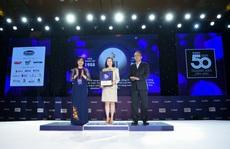 PNJ được vinh danh top 50 thương hiệu dẫn đầu