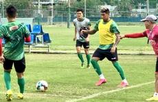 Tuyển thủ Costa Rica Jose Ortiz trở lại hội quân cùng CLB TP HCM