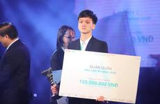 Ngô Hưng Thế Anh giành giải quán quân 'Ứng viên tài năng' năm thứ 10
