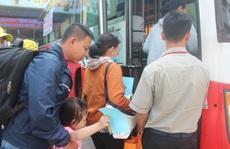 'Chuyến tàu mùa Xuân' đưa công nhân về quê đón Tết