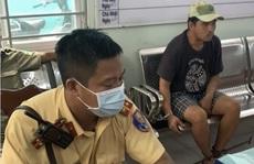 CSGT bắt cướp trước Bệnh viện Nhân dân Gia Định