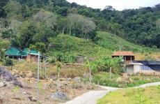 Hàng chục căn nhà trái phép mọc lên sát núi Voi ở Lâm Đồng