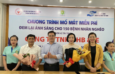 HB & IE giúp 150 bệnh nhân nghèo sáng mắt