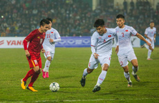 Quang Hải ghi bàn đẹp mắt, đội tuyển Việt Nam hoà 'đàn em' U22 Việt Nam 2-2
