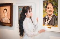 Hoa hậu Loan Vương khâm phục 'những đoá hồng' trong tuyến đầu chống dịch