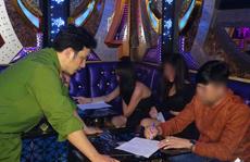 27 nam nữ phê ma túy trong quán karaoke ở Tam Kỳ