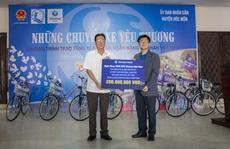 Ngân hàng Shinhan trao tặng xe đạp cho trẻ em nghèo huyện Hóc Môn, TP HCM
