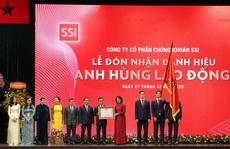 SSI nhận danh hiệu Anh hùng lao động