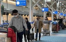 Bốn chuyến bay đưa hơn 1.000 người Việt về nước