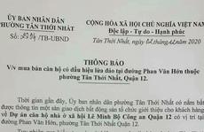 Quận 12 cảnh báo dự án lừa đảo Lê Minh Bộ Công an