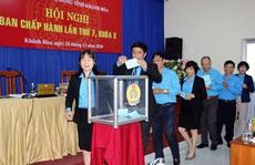 Ông Bùi Thanh Bình làm Chủ tịch LĐLĐ tỉnh Khánh Hòa