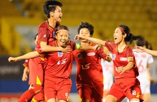 Tuyển nữ Việt Nam chuẩn bị cho SEA Games 31