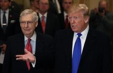 """Lãnh đạo Cộng hòa tại Thượng viện """"kình"""" ông Trump những ngày cuối cùng"""