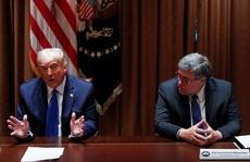 Tổng thống Trump không còn 'tai mắt' tại Bộ Tư pháp?
