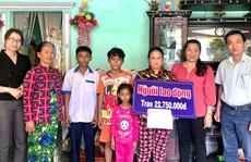 Trao hơn 42 triệu đồng cho 3 gia đình ở Bạc Liêu và Sóc Trăng