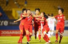 Đội bóng đá nữ TP HCM 1 rộng cửa bảo vệ 'ngôi hậu'