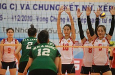 Nóng bỏng sàn đấu bóng chuyền ở Nha Trang