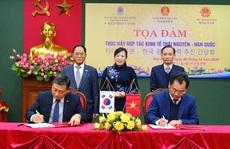 Thái Nguyên ký kết thúc đẩy hợp tác kinh tế với Hàn Quốc