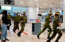 Cận cảnh sân bay Nội Bài kích hoạt báo động khẩn nguy đối phó nhóm gây rối