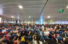 TP HCM: lượng hành khách hàng không tăng 20% trong dịp Tết